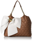 Bow Dacious Tote Bag, Spice, One Size