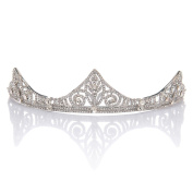 Remedios Chic Wedding Prom Tiara Pageant Princess Crown Headpiece Bridal Headband Hair Accessories