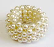 Solida Mother of Pearl Braided Ring