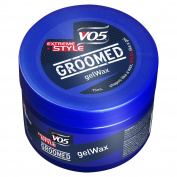 VO5 Groomed Extreme Style Gel Wax 75 ml - Pack of 6