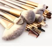 24 Pcs Professional Makeup Brushes Set Soft Synthetic Make Up Brush Eyeshadow Eyeliner Lip Brush Kits With High Quality Bag