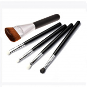 Amlaiworld 5 pcs/Set Makeup Brushes 1 Foundation+4 Goat Hair Eyeshadow Brushes Professional Makeup Tools