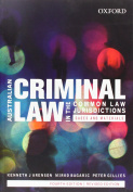 Australian Criminal Law in the Common Law Jurisdictions