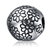 Flower Charm for Pandora Bracelet Authentic Genuine 925 Sterling Silver
