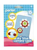 Perler Beads Perler Felt Sewing Kit, Sky Blue Camera Case by Perler Beads