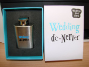 The Bright Side Wedding Shot Flask - Wedding De-Nerver