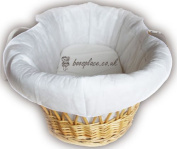 Padded Moses Basket Bassinette Liner (No Basket) MADE IN THE UK