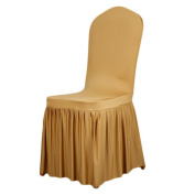 LianLe 1pcs Spandex Chair Cover Banquet Wedding Party Dinning Room Decoration