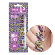 ThumbsUp Nails - Ikat Festival Nail Wraps 20 Wraps / Pack