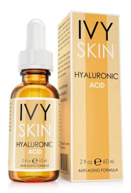 IVY SKIN - Hyaluronic Acid Serum 60ml || Anti-Ageing || Premium Quality - Extra Strong Formula