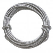 HangZ 80050 Coated Stainless Steel Gallery Wire for Hanging Pictures, 23kg, 2.7m