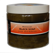 Moroccan Argan Oil Black Soap - Amber Musk -470ml value size ...