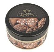 Organic Certified Ingredients African Black Anti Age Body Butter with mango and shea 300 ml