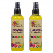 "Alikay Naturals Lemongrass Leave In Conditioner 240ml ""Pack of 5.1cm"