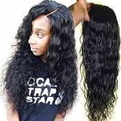 8A Grade Brazilian Virgin Human Hair Glueless Lace Front Wigs Natural Colour Straight Human Hair Wigs For Black Women