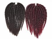 BEST LINA Collection Synthetic Hair Crochet Braids 2X Havana Mambo 36cm