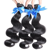 HOT Sell Hair Best Quality Brazilian Virgin Hair Extension Body Wave Mixed Length 30cm 36cm 41cm 3pcs.
