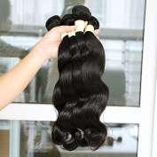 Peruvian Remy Hair Body Wave 3 Bundles Unprocessed Virgin Human Hair Weave Weft Natural Colour Tangle-free 513640cm