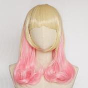 Sunshine susie pink hair wig