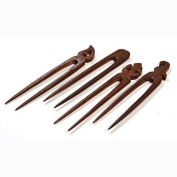 Western Outpost - Set of Four Wooden Hair Pins - Matr Boomie