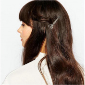 Joyci 1Pcs Unique Scissors Hair Pin Punk Women 's Bobby Pins Hair Clip
