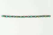 """Pink Pewter Authentic """"Camila"""" Turquoise Stretchband"""