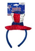 Patriotic Sequin Hat Headband