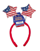 Patriotic Felt Flag Stars Headband
