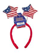 Patriotic Felt Flag Stars Headband