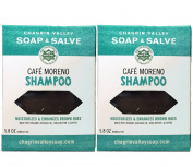 Chagrin Valley Soap & Salve - Organic Natural Shampoo Bar - Café Moreno 2X Pack