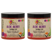 "Alikay Naturals Aloe Berry Styling Gel 240ml ""Pack of 5.1cm"