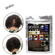 SEVICH Beauty Instant Thickening Hair Fibres Building Extensions Refill 100g Powders Dark Brown/Black