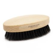 Fendrihan Genuine Boar Bristle and Beech Wood Military Hair Brush, Made in Germany STIFF BRISTLE