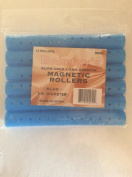Brittny's sure-grip long smooth magnetic rollers blue 1.6cm diameter