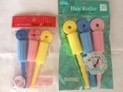 Ornamental hairpin Hair Roller