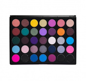 Morphe Pro 35 Colour Eyeshadow Makeup Palette - Smokey Eye Palette 35S