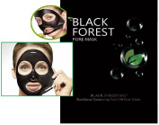 Black Forest Spa® Blackhead Remover, Acne Treatment, Tearing Style Deep Cleansing Purifying Peel off the Black Head,black Mud Face Facial Mask 10-Pack