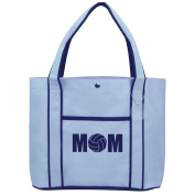 Fashion Tote Bag Shopping Beach Purse MOM Volleyball