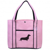 Fashion Tote Bag Shopping Beach Purse Dachshund