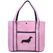 Fashion Tote Bag Shopping Beach Purse Dachshund