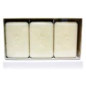 Pecksniffs Gardenia and White Peach Bar Soap Trio