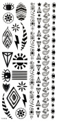 Wonbeauty best and high quality temporary tattoos Different jewellery totem long lasting and realistic temporary tattoos