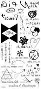 Wonbeauty best and high quality temporary tattoos Different unique Graph design and English words long lasting and realistic temporary tattoos