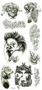 Wonbeauty best and high quality temporary tattoos Monsters and totems long lasting and realistic temporary tattoos