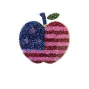 Glitter Patriotic Temporary Tattoos, USA Flag Necklaces, Rings, 4th of July Presidential Party Favours