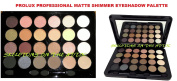 PROLUX 24 Colour Professional Matte & Shimmer Eye Shadow Palette