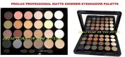 PROLUX 24 Colour Professional Matte & Shimmer Eye Shadow Palette