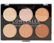 Beauty Treats Concealer Palette Six Shades Light