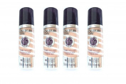 Lot of 4 Covergirl + Olay CC Cream Foundation # 140 Natural Beige - 30ml