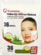 Bioswiss Cucumber Scent Make-Up Remover Tissues